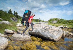 Ultra Hike II GTX - Water crossing - Land Of Confusion Boulders - Peggy's Cove, Nova Scotia-9619
